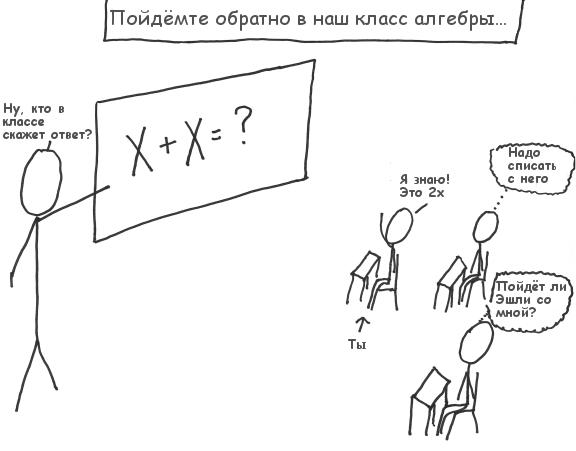Акт 4. Сцена 1. Класс алгебры. (28Кб)