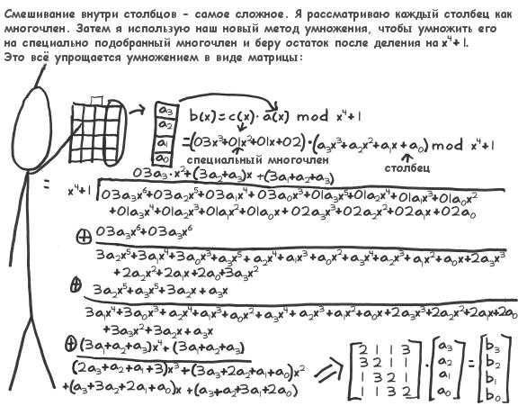 Акт 4. Сцена 16. Математика смешивания по столбцам. (80Кб)