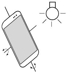 Источник света и смартфон (13Кб)