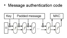 Код аутентификации сообщений Sponge (15Кб)